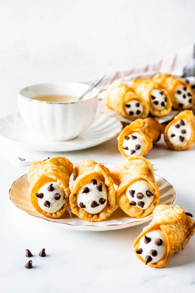 Cannoli made from scratch