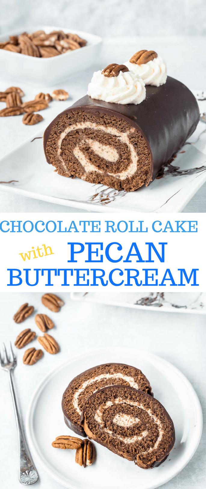 chocolate roll Cake