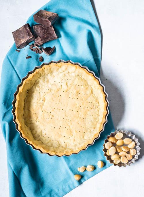macadamia tart crust
