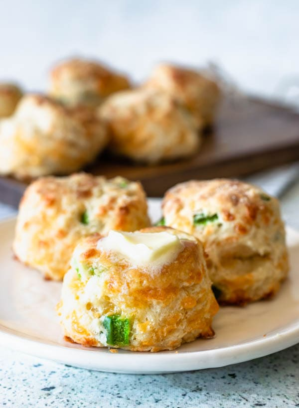 cheddar garlic jalapeno scones