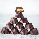Pyramid of peanut butter cups