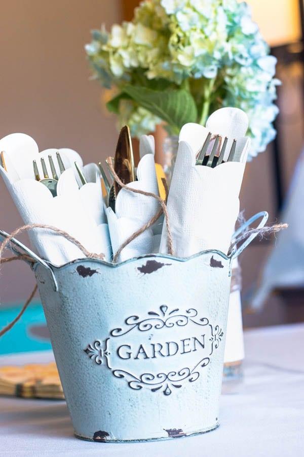 Garden Party silverware