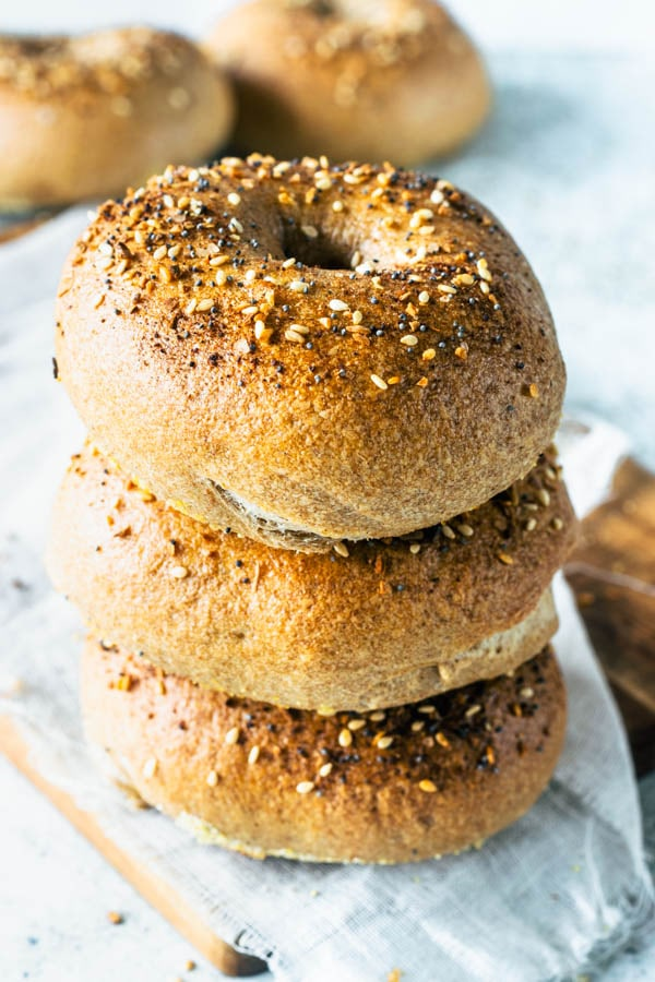 Sourdough Everything Bagels