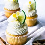 White Chocolate Lime Cupcakes