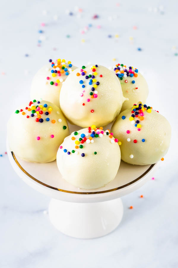 Sprinkles White Chocolate Truffles