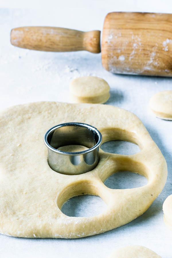 Bavarian Cream Donuts