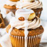Cinnamon Roll Cupcakes