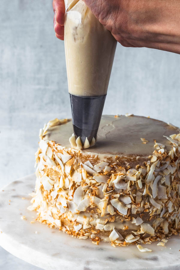 Vegan Coconut Cake