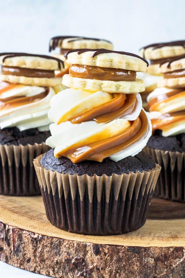 Alfajor Cupcakes