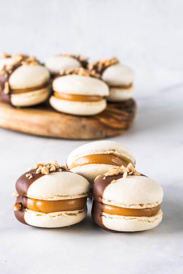 Toffee Macarons