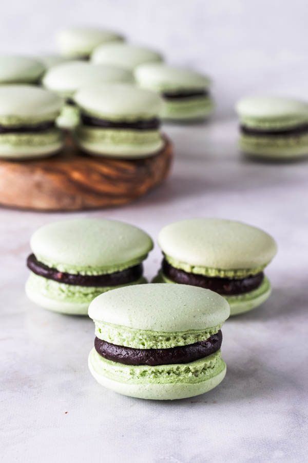 Avocado Vegan Macarons