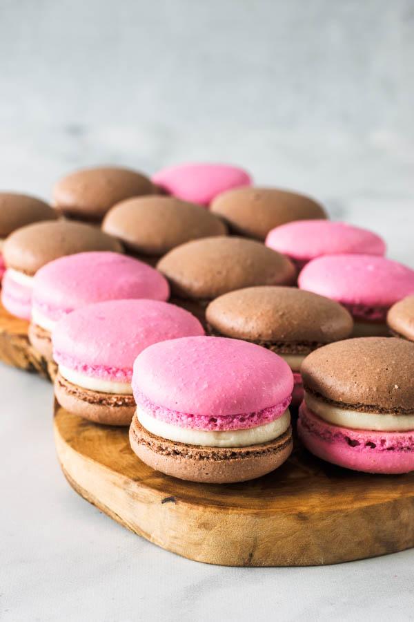 Neapolitan Macarons