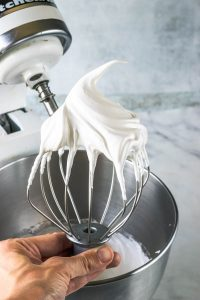 How to make macarons: the meringue stage