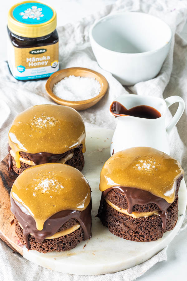 Paleo Honey Chocolate Cake