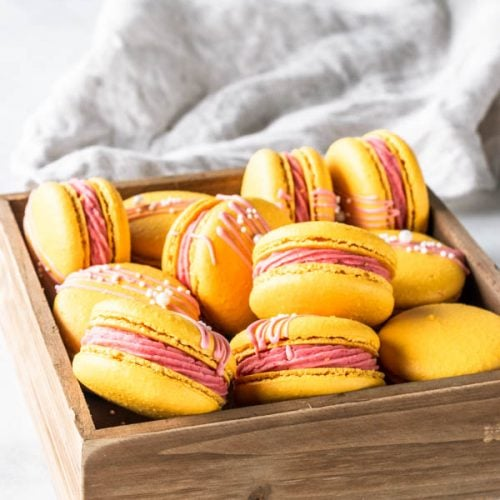 Strawberry Lemonade Macarons Pies And Tacos
