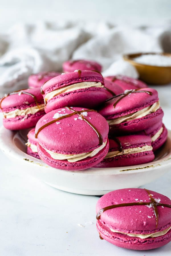 Balsamic Caramel And Strawberry Macarons Pies And Tacos