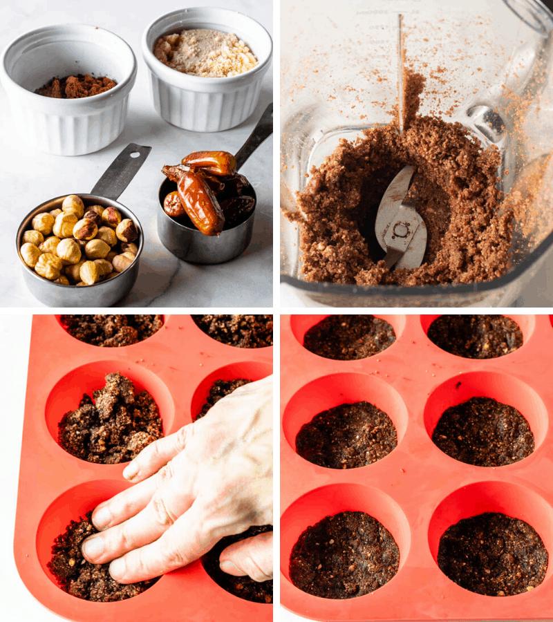 making vegan cheesecake crust