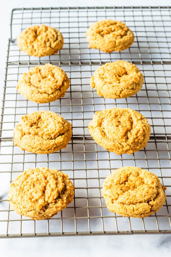 Healthy Honey Cookies, paleo and gluten-free with a honey cream frosting
