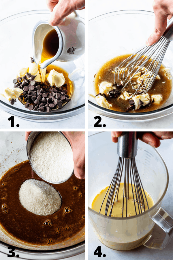 steps on how to make chocolate tres leches cake