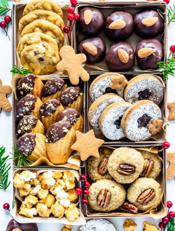 Vegan Christmas Cookies cookie box