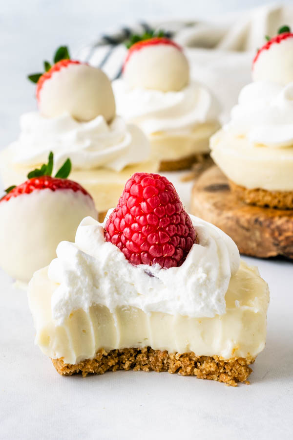 No Bake White Chocolate Cheesecake Pies And Tacos