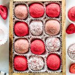 White Chocolate Strawberry Fudge