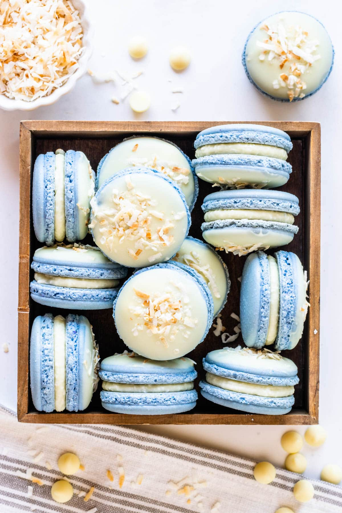 Coconut Macarons Pies And Tacos