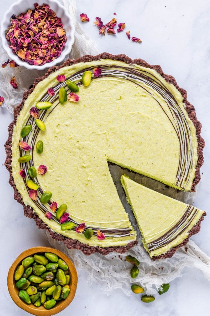 No Bake Pistachio Pie