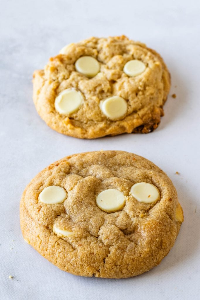 White Chocolate Peanut Butter cookie