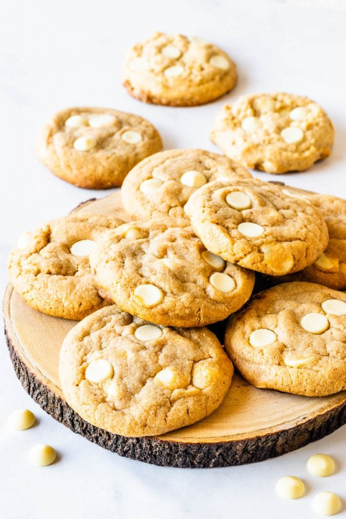 White Chocolate chip Peanut Butter Cookie