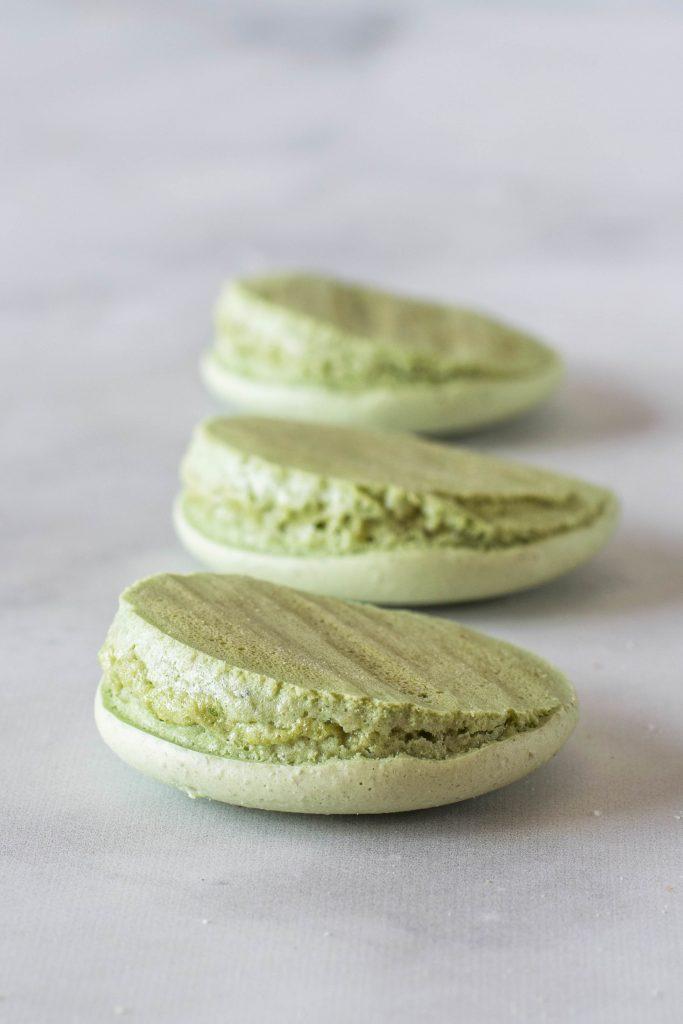 lopsided macarons