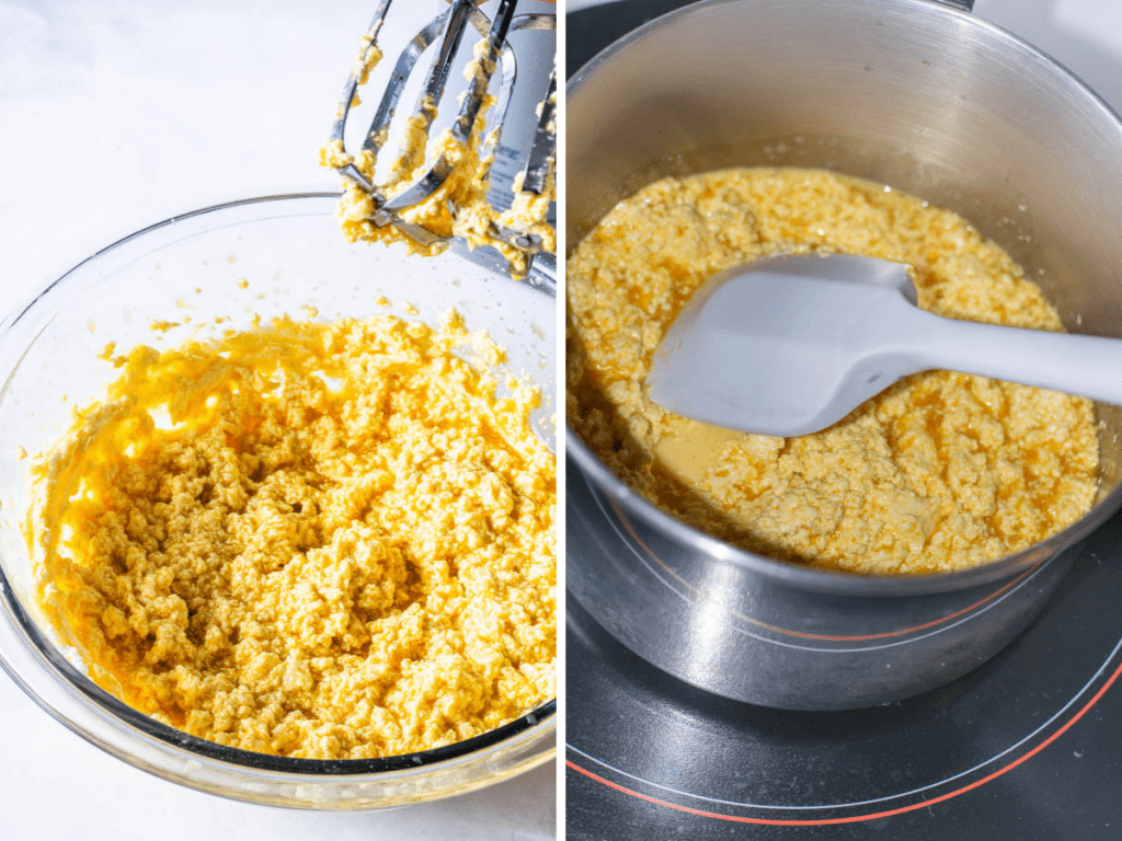 steps on how to make passionfruit curd