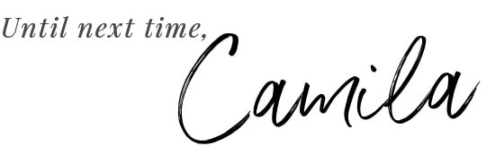 Camila from Pies and Tacos Blog Signature
