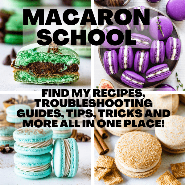 Macaron School poster.