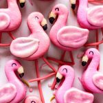 Flamingo Macarons.