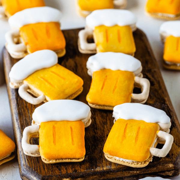 Beer Macarons