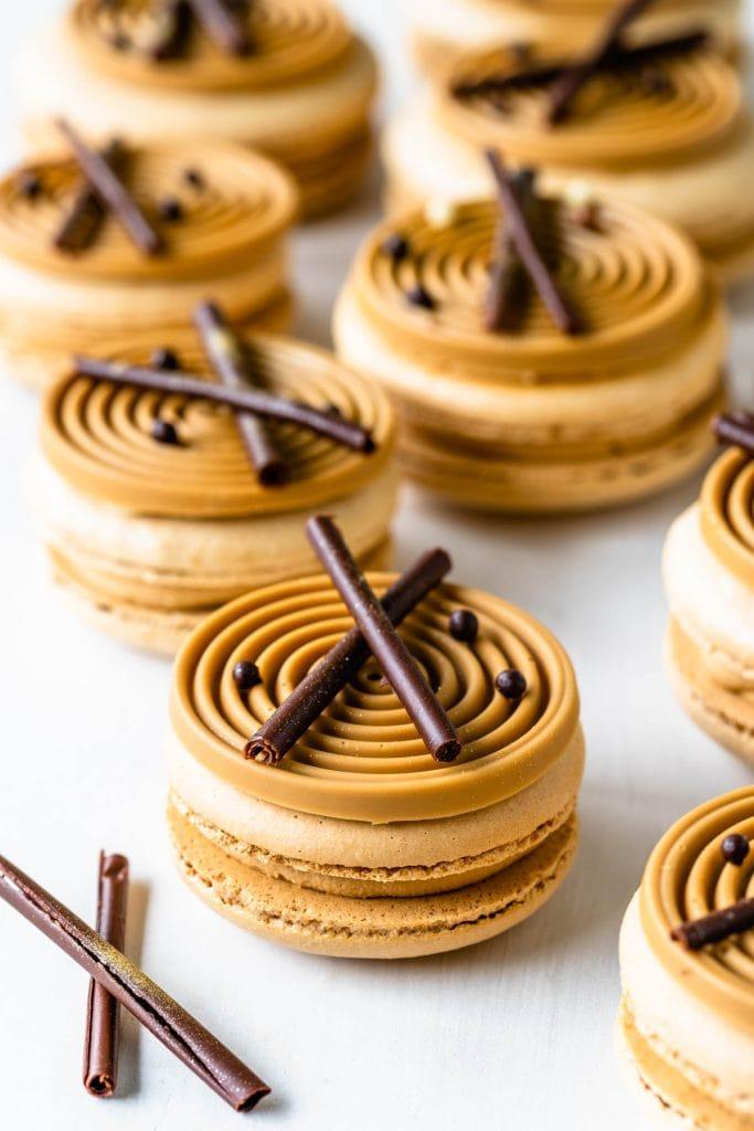 Amarula Macarons