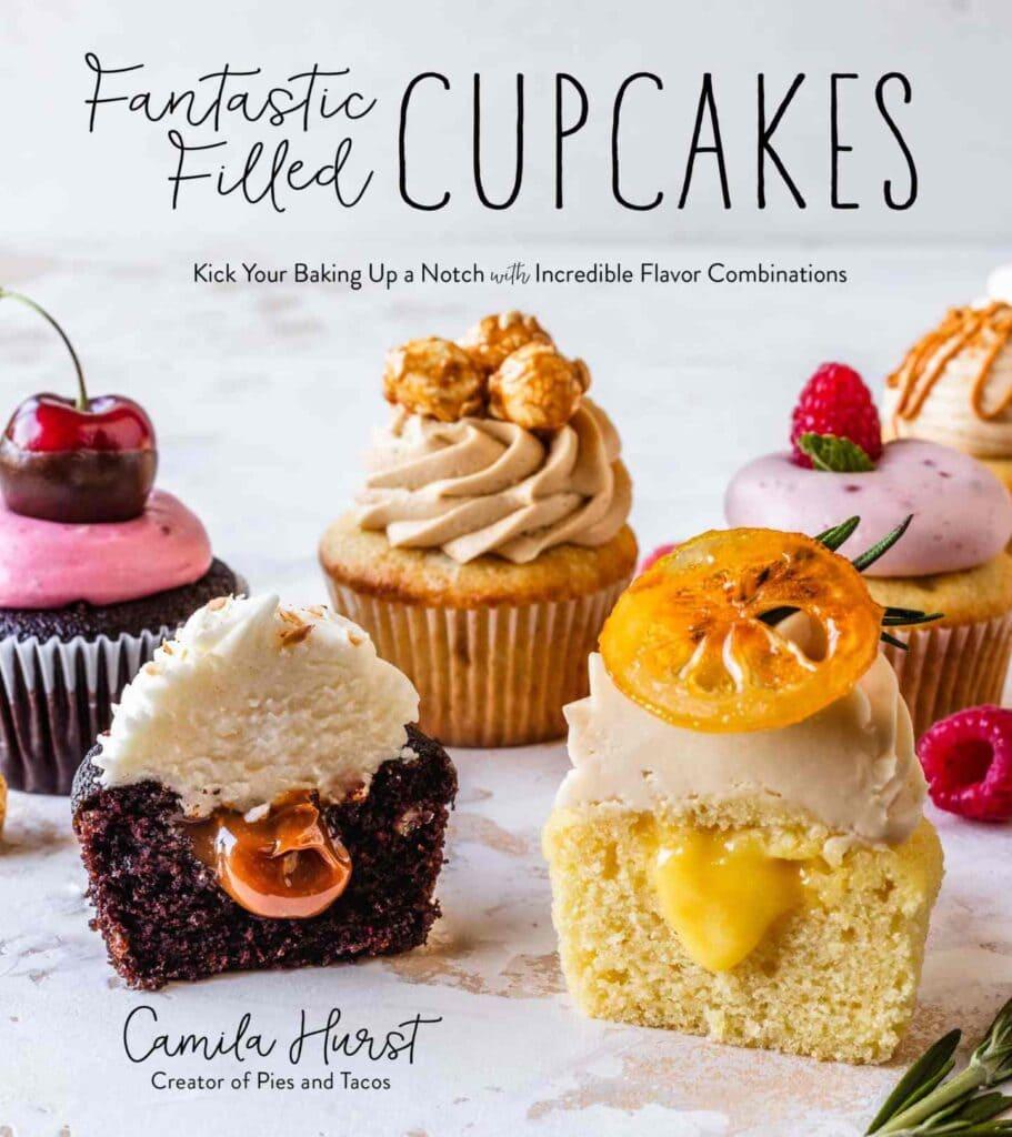 Fantastic Filled Cupcakes Cookbook cover