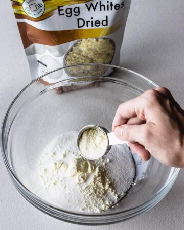 egg white powder.