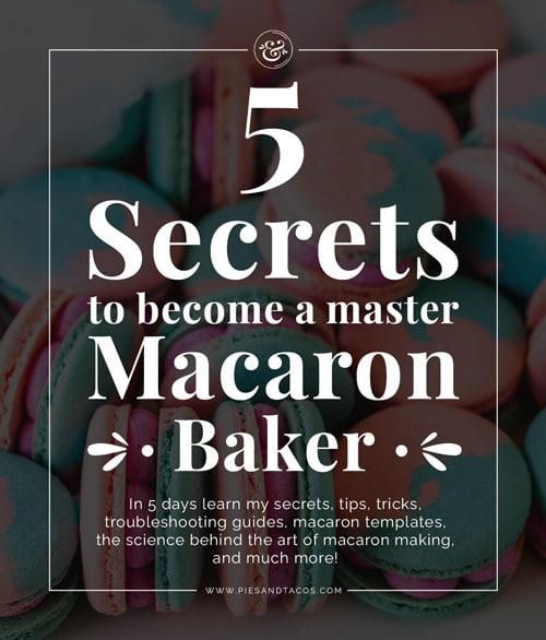 Become a master Macaron Baker