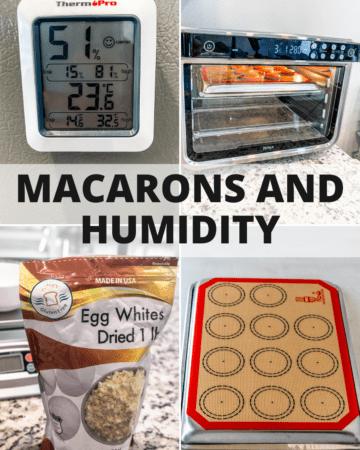 Macarons and humidity